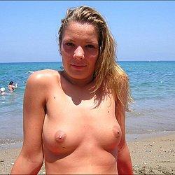 Freundin nackt strand